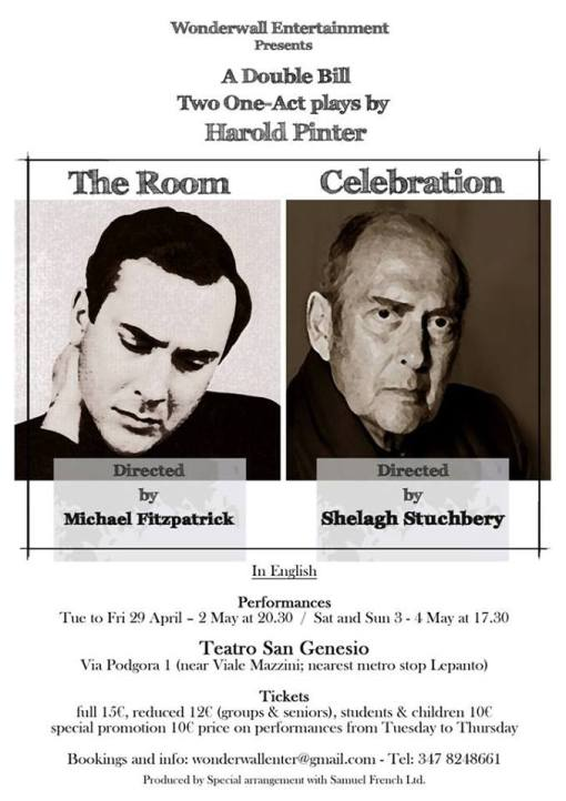 Pinter double bill
